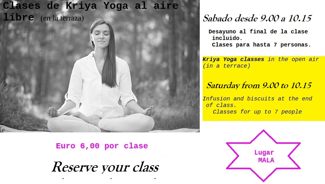 Clases De Kriyā Yoga Al Aire Libre En La Terraza
